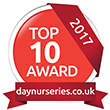 Day Nurseries Top 10 Award