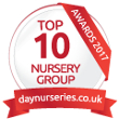 Day Nurseries Top 10 Group Award