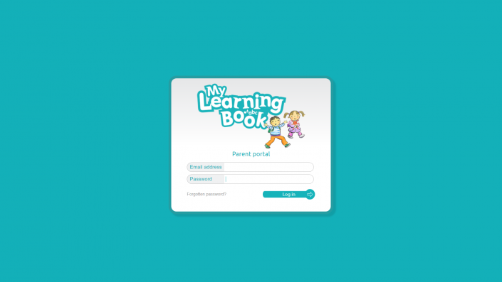 MyLearningBook - Login