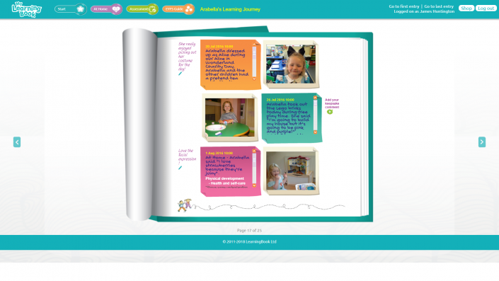 MyLearningBook - Learning Journey