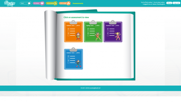 MyLearningBook - Assessments